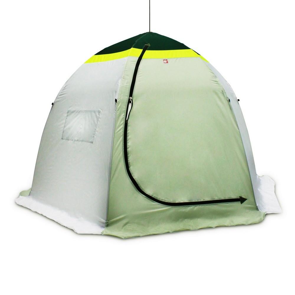 двухместная рыболовная палатка